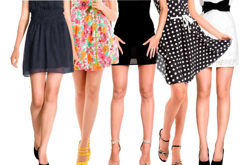 Мини юбки снова в моде