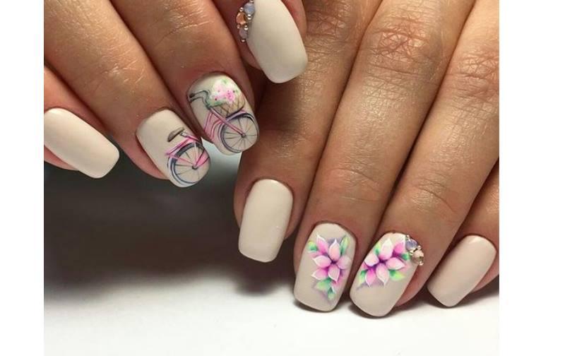Нежные розовые оттенки