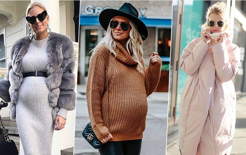 свитера беременным