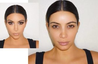 фото макияжа Ким Кардашьян
