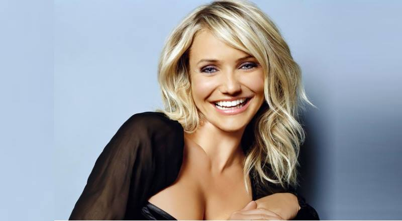 Голливудская красотка с невероятной улыбкой