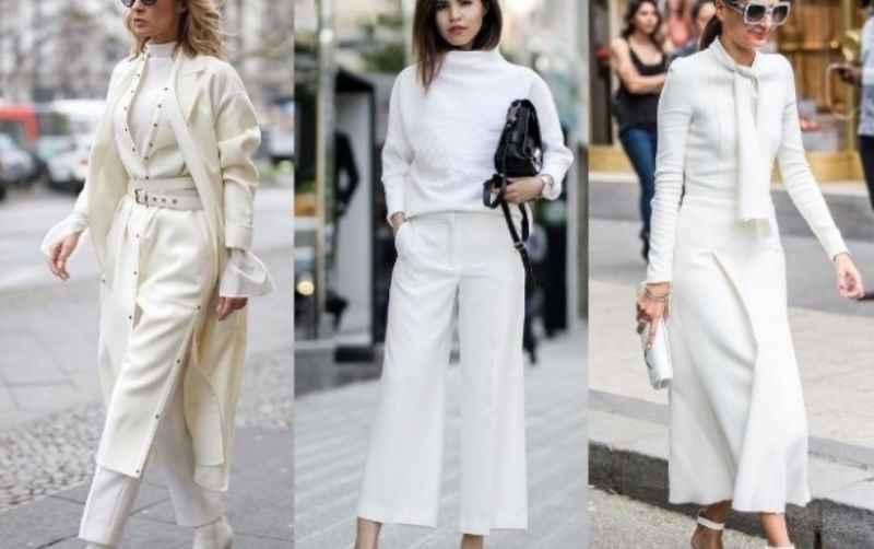 белые рубашки, длинные белые платья