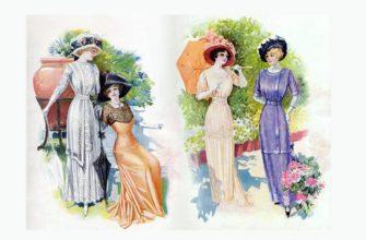 как менялась мода последние 100 лет