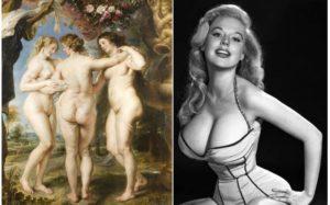 Разные эпохи формировали свои критерии красоты